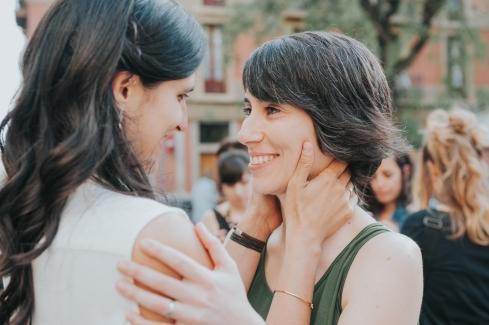 Boda de Natalia y Carla. Vila de Gràcia, Barcelona
